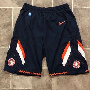 Nike Illinois basketball shorts